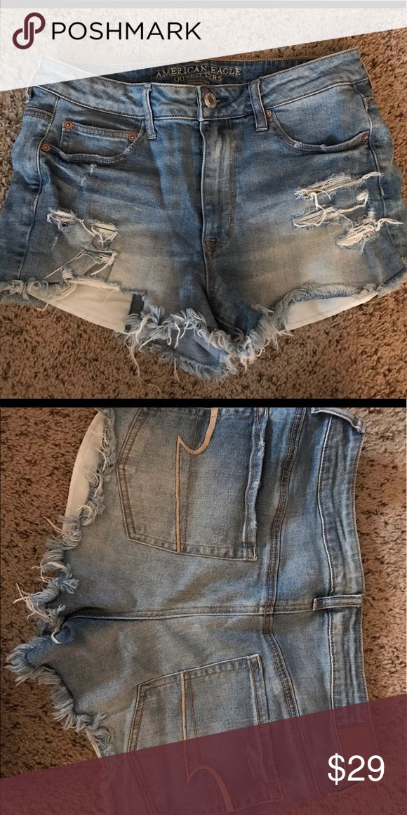 AE Distressed Jean Mini Shorts Proceeds go to Roxy's (our Shih Tzu) bucket list. The perfect shorts for festivals! :) American Eagle Outfitters Shorts Jean Shorts