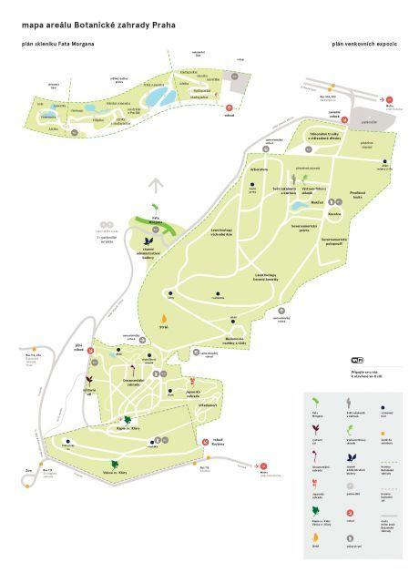 Skleník Fata Morgana - Botanická zahrada Praha