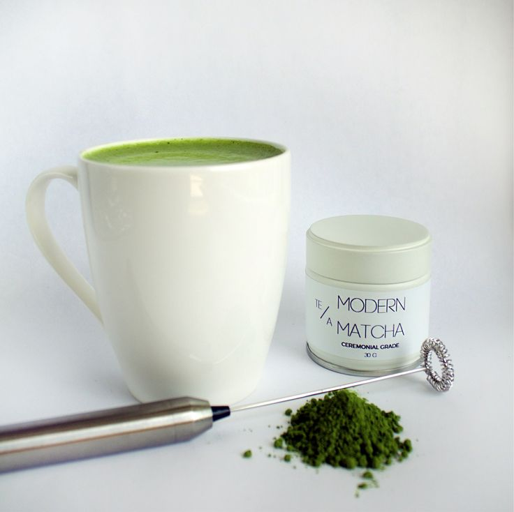 Modern whisk for your matcha creations