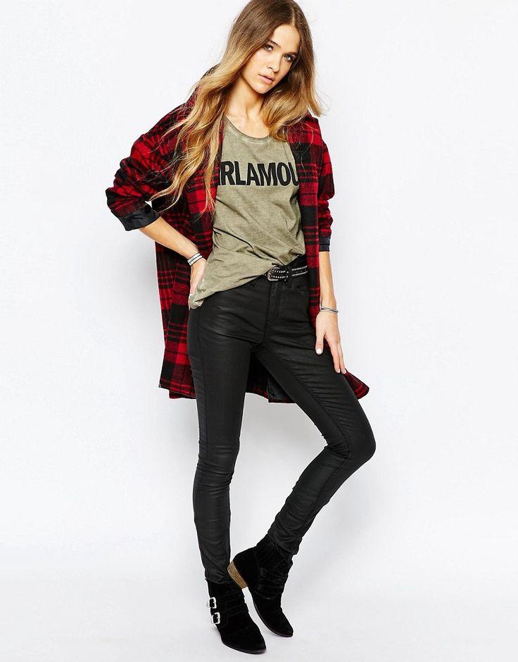 Immagine 4 di Blend She - Jeans rivestiti di nero acceso