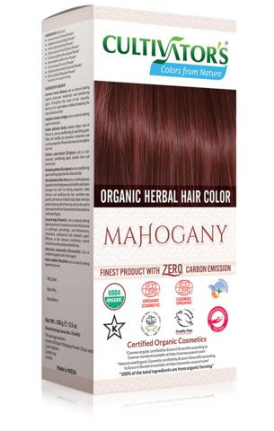 Cultivators Colors From Nature |Organic Herbal Hair Color Mahogany