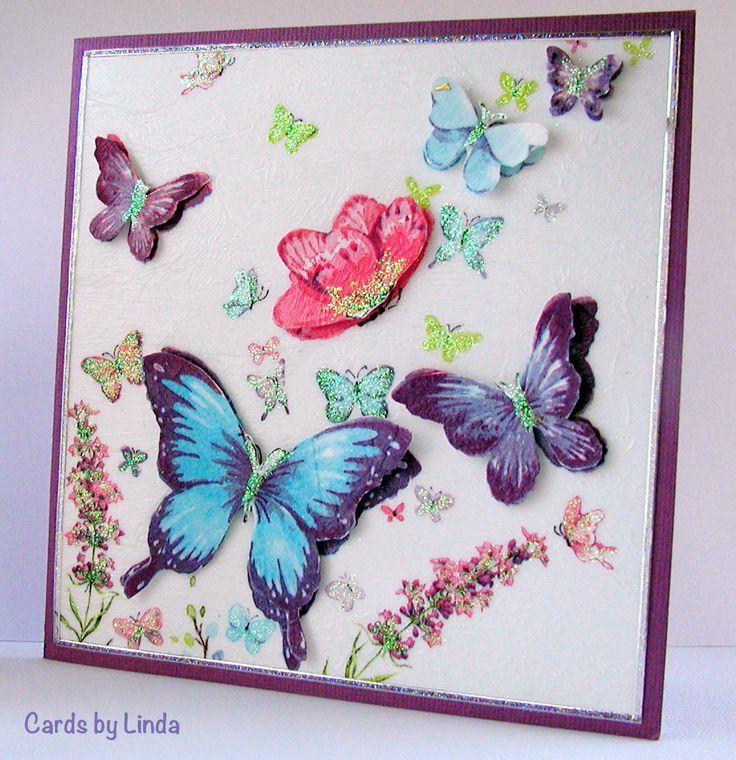 Butterfly serviette