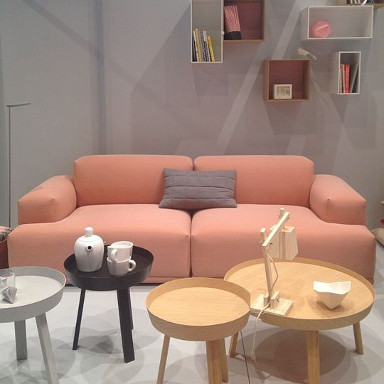 Muuto / Connect Sofa and Around Tables