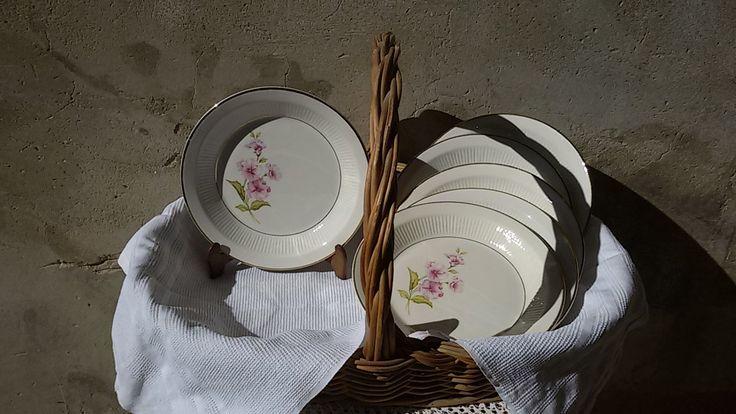 Français 60's/ 6 assiettes creuses, à soupe Moulin des Loups / vintage french  plates de la boutique ChezOdileBrocante sur Etsy