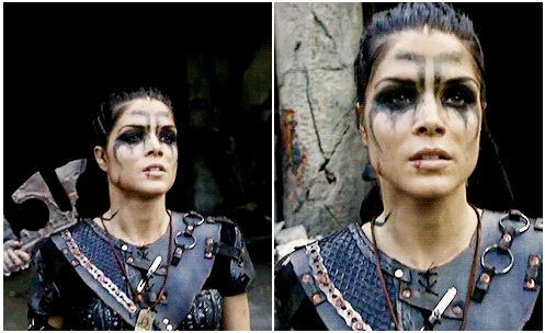 Octavia Blake in season 4 trailer || The 100 || Marie Avgeropoulos