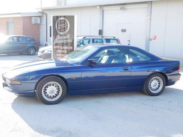 bmw 850 i-cambio-manuale-asi-crs-da-concorso blue - 1