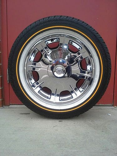 Vogue Custom Built Tires Used Radial Viii White Amp Gold