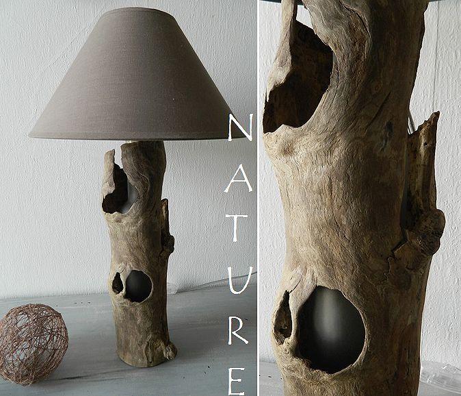 143 best images about lamparas on pinterest sculpture for Chandelier bois flotte