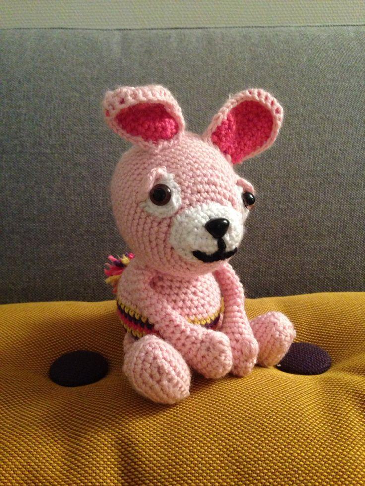 Liten rosa kanin