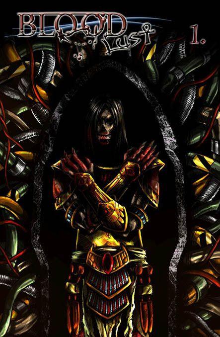 Bloodlust 1. - Ébredés (képregényborító)