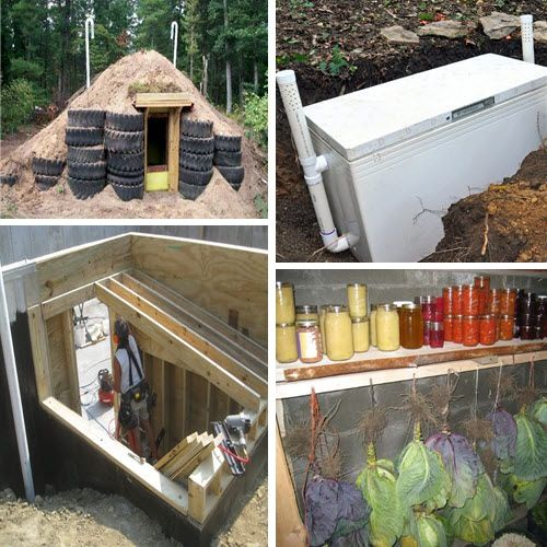 6 Low-Budget DIY Root Cellar Ideas   http://homestead-and-survival.com/6-low-budget-diy-root-cellar-ideas/   The idea of root cellars has been around for centuries as a very effective way to store fruits and vegetables without refrigeration.