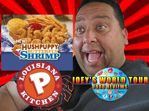 Popeyes® HushPuppy Butterfly Shrimp REVIEW!