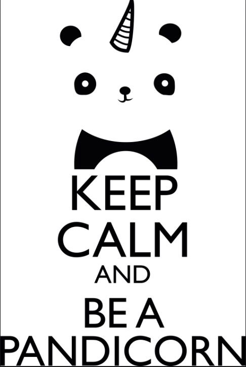 Just be a pandacorn everyone