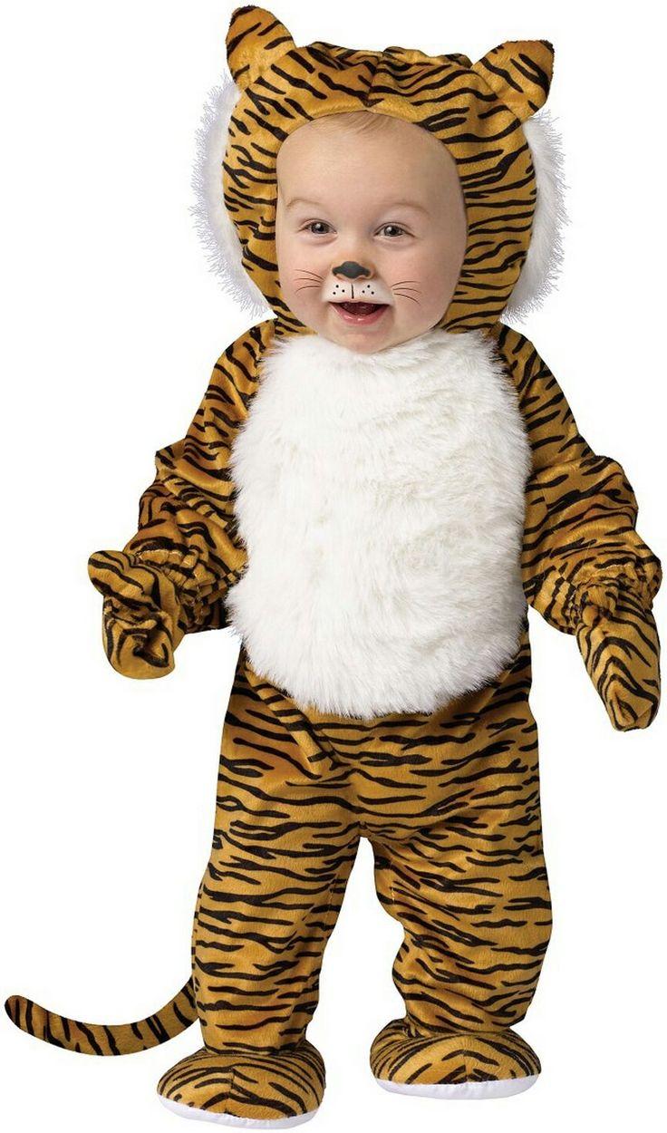 Cuddly Tiger Infant Costume