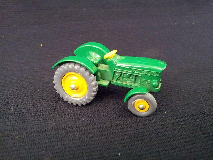 John Deere Matchbox Tractor : Matchbox lesney john deere lanz tractor