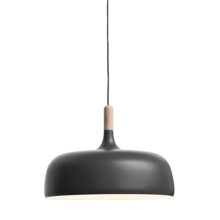 Suspension Acorn gris mat - Northern Lighting