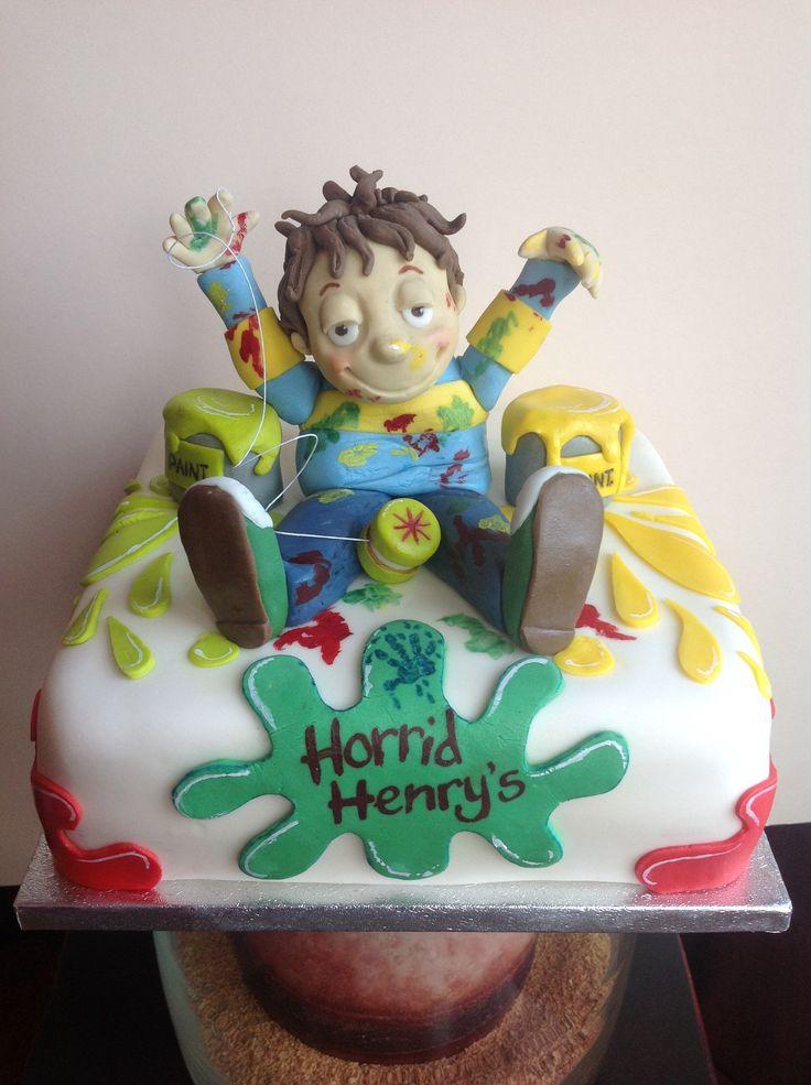 Horrid Henry Birthday Cake Toppers
