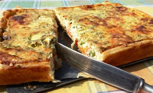 Omlós tészta az alapja ennek a jó kis hétvégi francia quiche-nek (ejts: kis), aminek a töltelékét megszámlálhatatlan módon variálhatjuk kedvünk - és a hűtőnk tartalma - szerint.