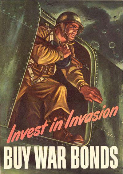 War Bond Drive...Invasion Paratrooper
