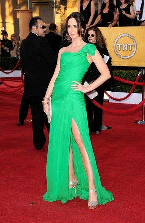 Lovely green gown