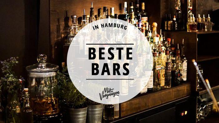Unser vergnügter Barguide führt euch zu den großartigsten Tempeln der gepflegten Drink-Kultur in der Hansestadt. Wohl bekommt's!