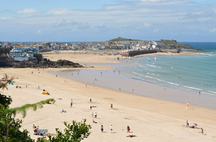 "mycornishplace: "" A classic view of St Ives """