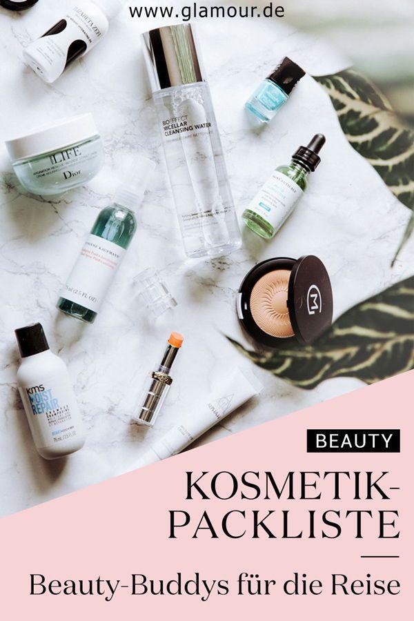Beauty Packliste Das Muss Mit Auf Die Reise Koffer Packen Tipps