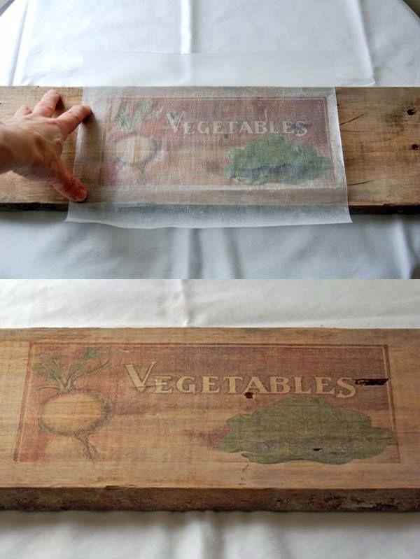 DIY vintage para tus muebles de madera