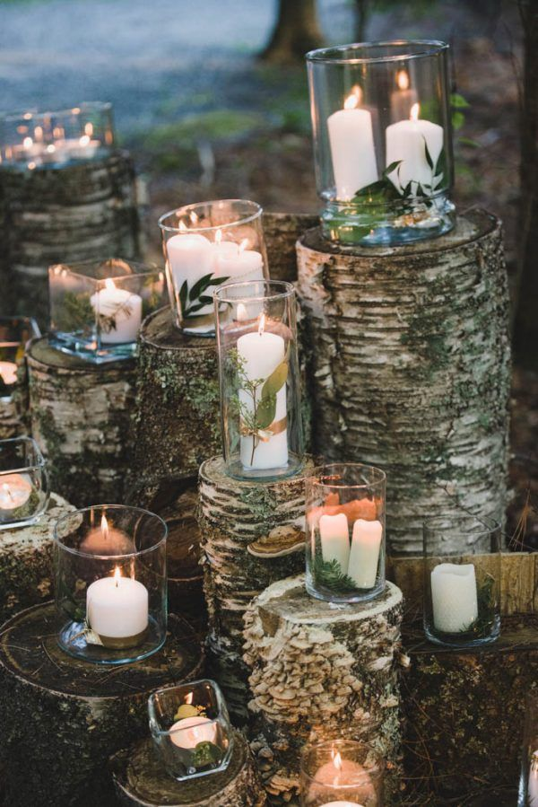 Jewel Tone Ontario Wedding at Lake of the Woods