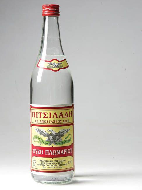 Ούζο Πιτσιλαδή - Πλωμάρι Λέσβου