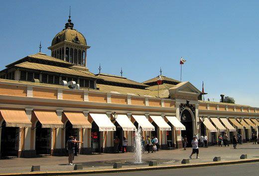 Santiago de Chile - Mercado Central