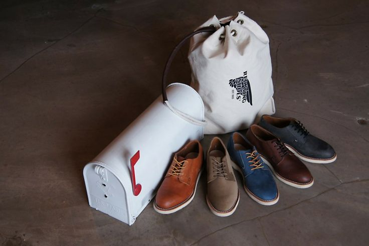 Win An Exclusive Limited Edition Postal Pack of the New Red Wing Postman Series | Denimhunters | #denimhunters