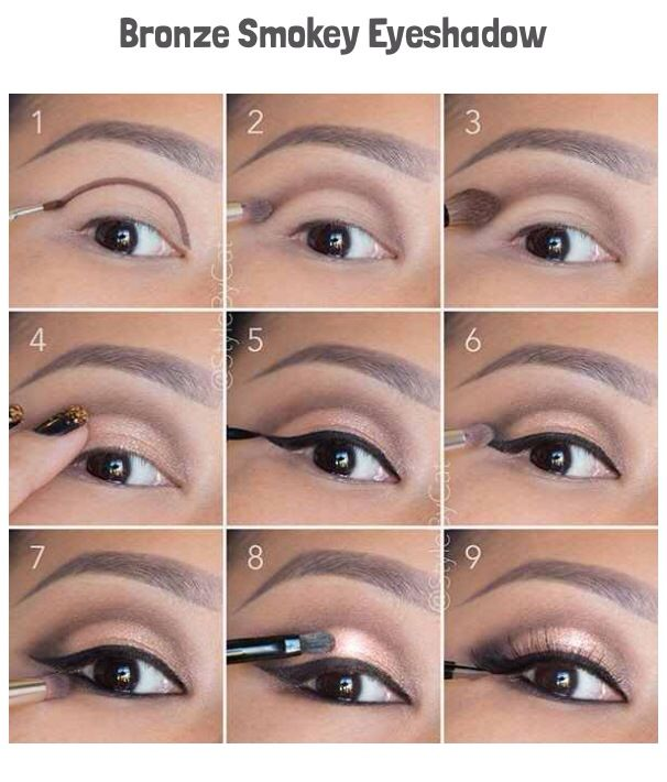 Easy simple glam