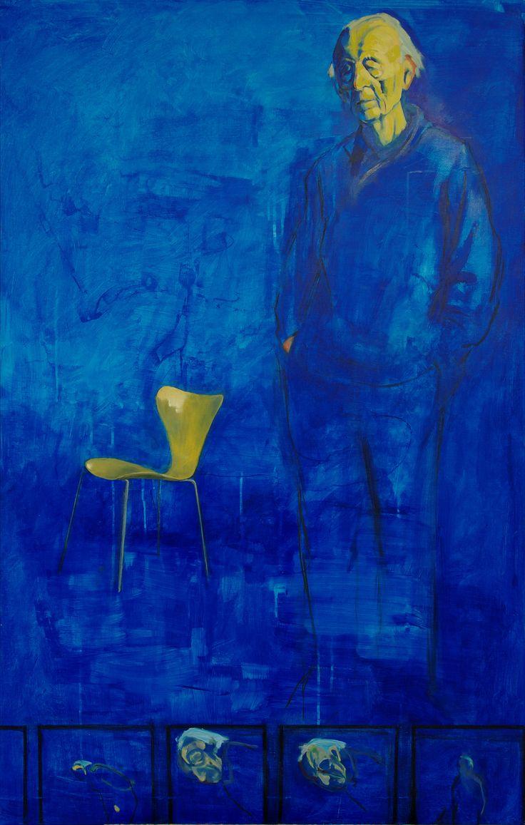 Håkon Bleken med stol | Pål Gulsrud