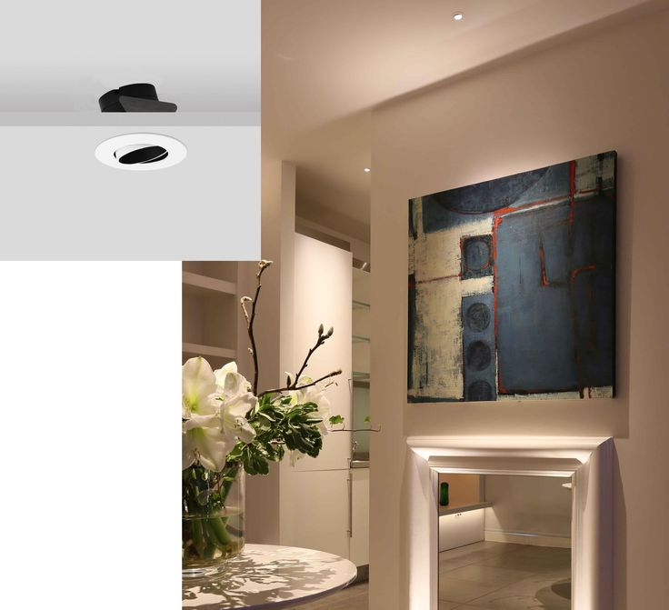 This Unique Miniature Low Glare Directional Downlight Is Perfect For General Lighting Or
