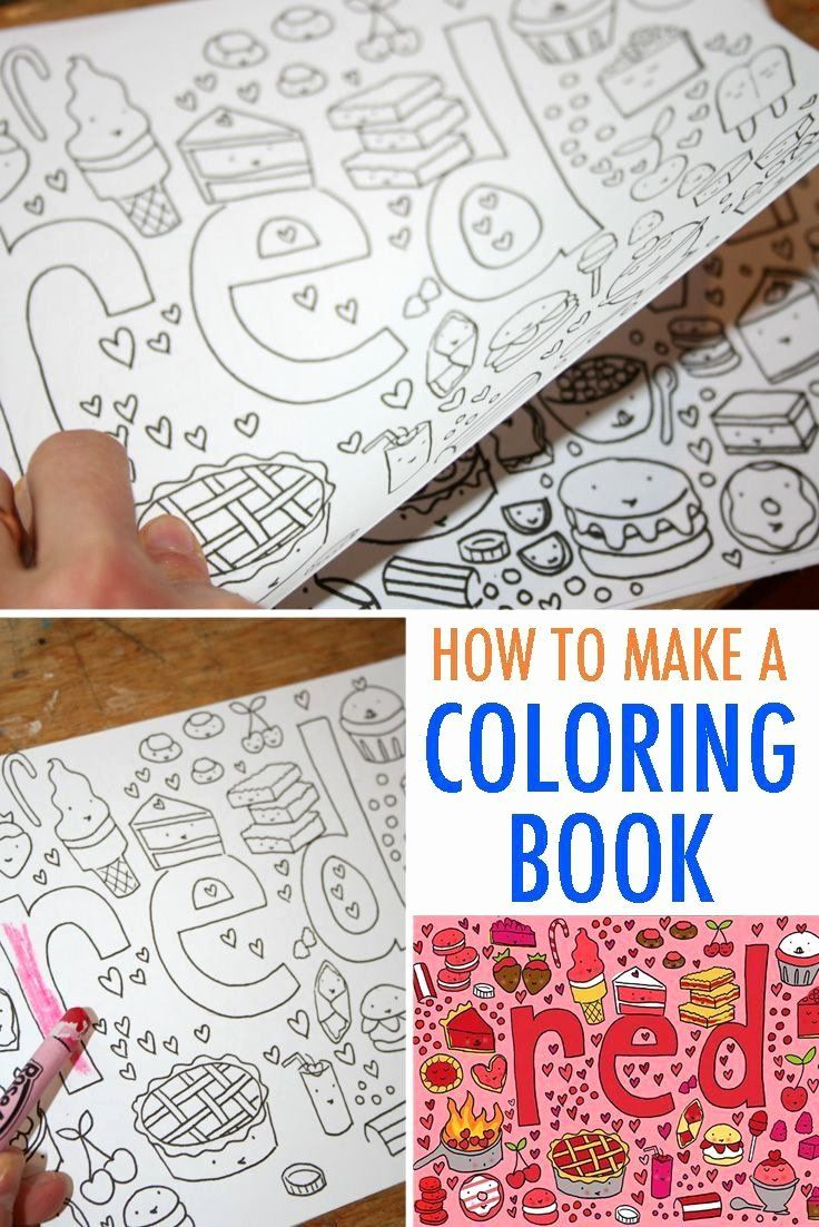 Make A Coloring Book Elegant 28 Create Your Own Coloring Page In 2020 In 2020 Diy Coloring Books Coloring Books Kids Coloring Books