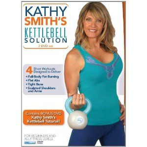 Kathy Smith: Kettlebell Solution Workout- another good workout for the less-than-coordinated.  I can't do the ones with a lot of jumping around after 3 kids!