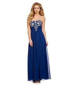Blue dress dillards maternity