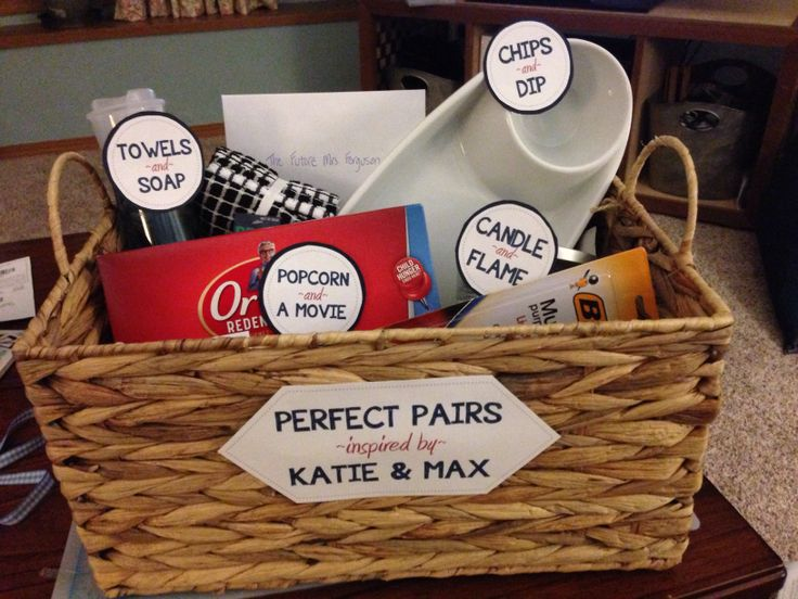 perfect pairs gift basket