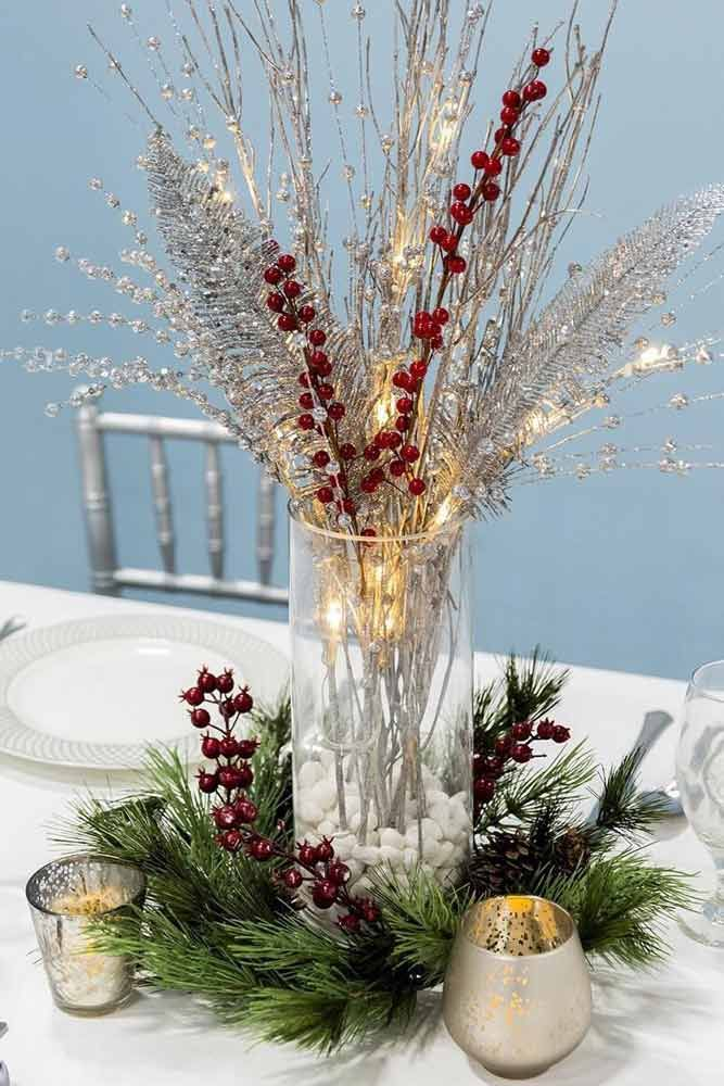 48 Simple Holiday Centerpiece Ideas Christmas Crafts For Idea Pinterest Centerpieces And
