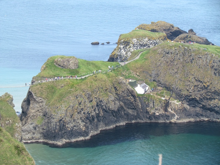 Portaneevey CarrickaRede Island and Bridge Ireland