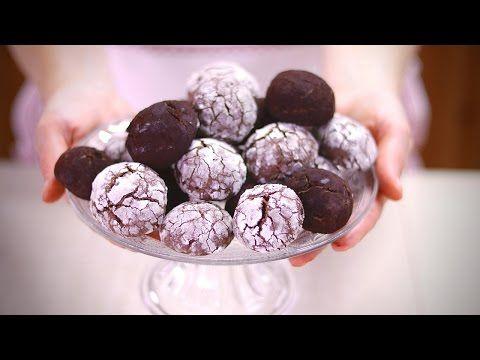 BISCOTTI AL CIOCCOLATO RICETTA SEMPLICE E VELOCE - Easy Chocolate Biscuits Recipe - YouTube