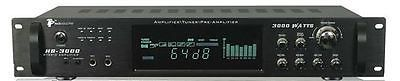 Stereo Receivers: Technical Pro Hb-3000 3000 Watt Digital Hybrid Amp / Preamp / Tuner BUY IT NOW ONLY: $119.99