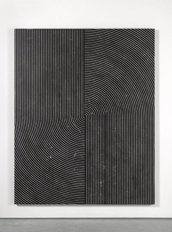 Davide Balliano, Untitled, 2016, plaster, gesso and lacquer on wood, 203,2 x 162,6 cm  www.davideballiano.com  www.tinakimgallery.com  www.lucegallery.com