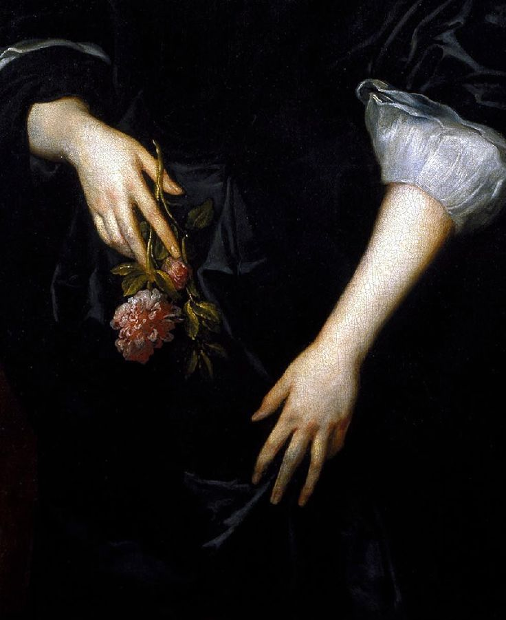 "jaded-mandarin: "" "" Dorothy, Lady Dacre by Sir Anthony Van Dyck (detail) "" """