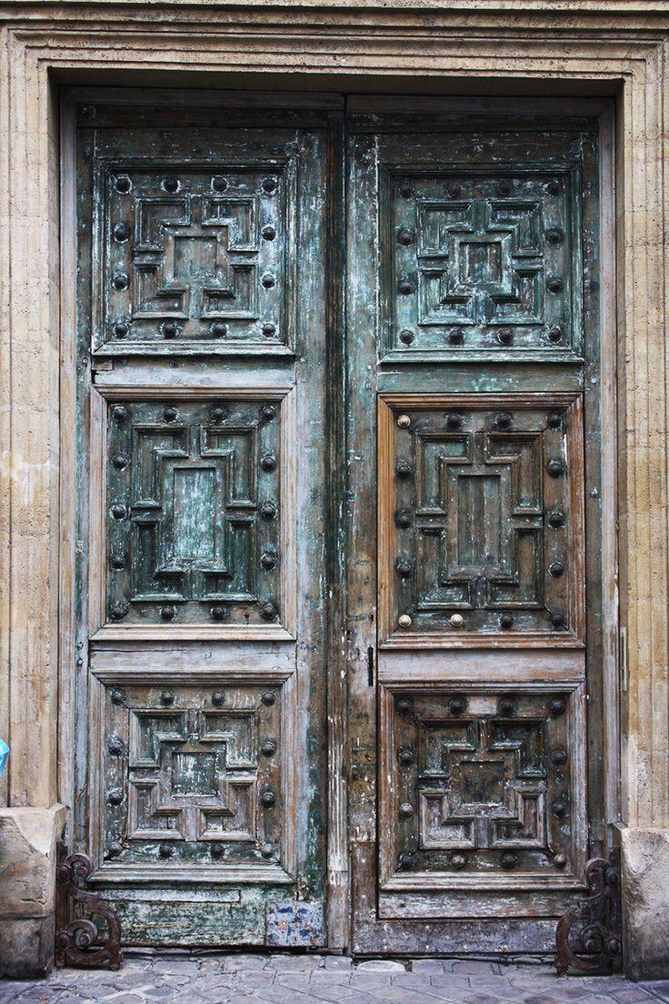 Двери Парижа. Эклектика и модерн.