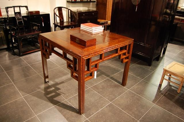 Chinese table, 19th century.
