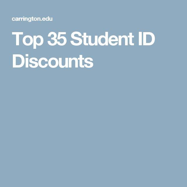 Top 35 Student ID Discounts