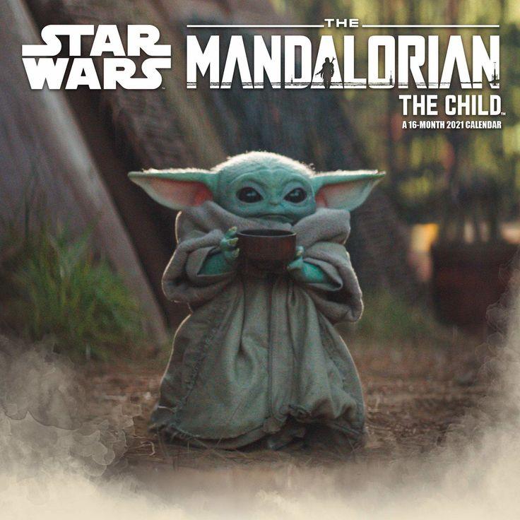 Cal2021 the Child (Baby Yoda) Wall Calendar NEW ships