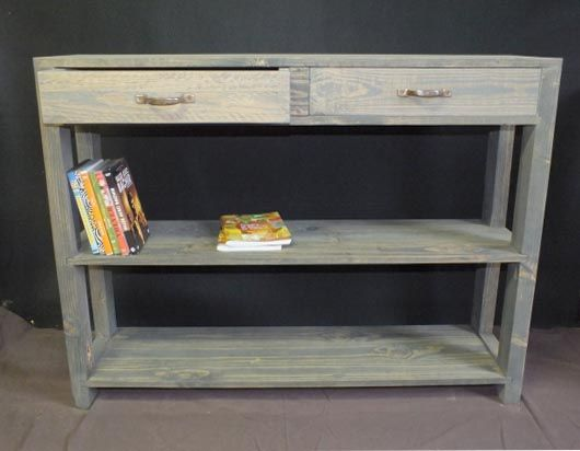Cr atrice de meubles en bois de palettes blog et consoles Meubles en bois de palette